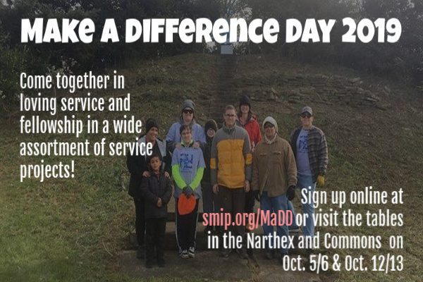 Make a Difference Day 2019