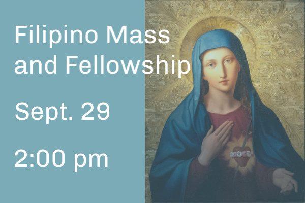 Filipino Mass and Fellowship