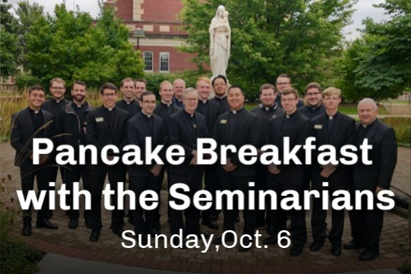 Pancake Breakfast with Your Future Priests