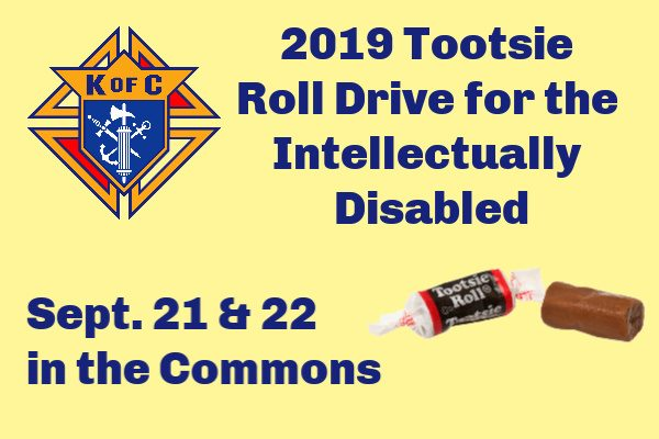 2019 Tootsie Roll Drive for the Intellectually Disabled