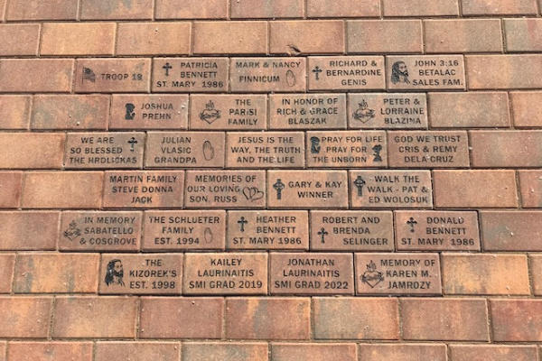 Stations of the Cross Brick Pavers