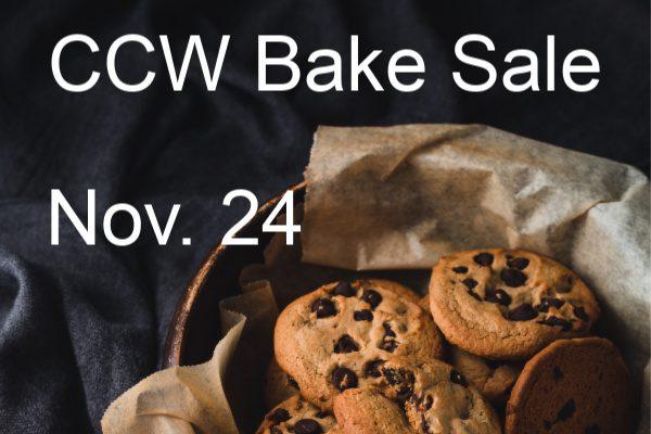 CCW Bake Sale